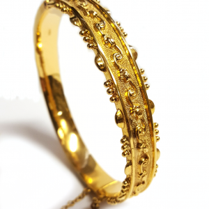 Antique 9ct Gold Bangle