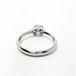 Certificated Diamond Solitaire Ring .7ct