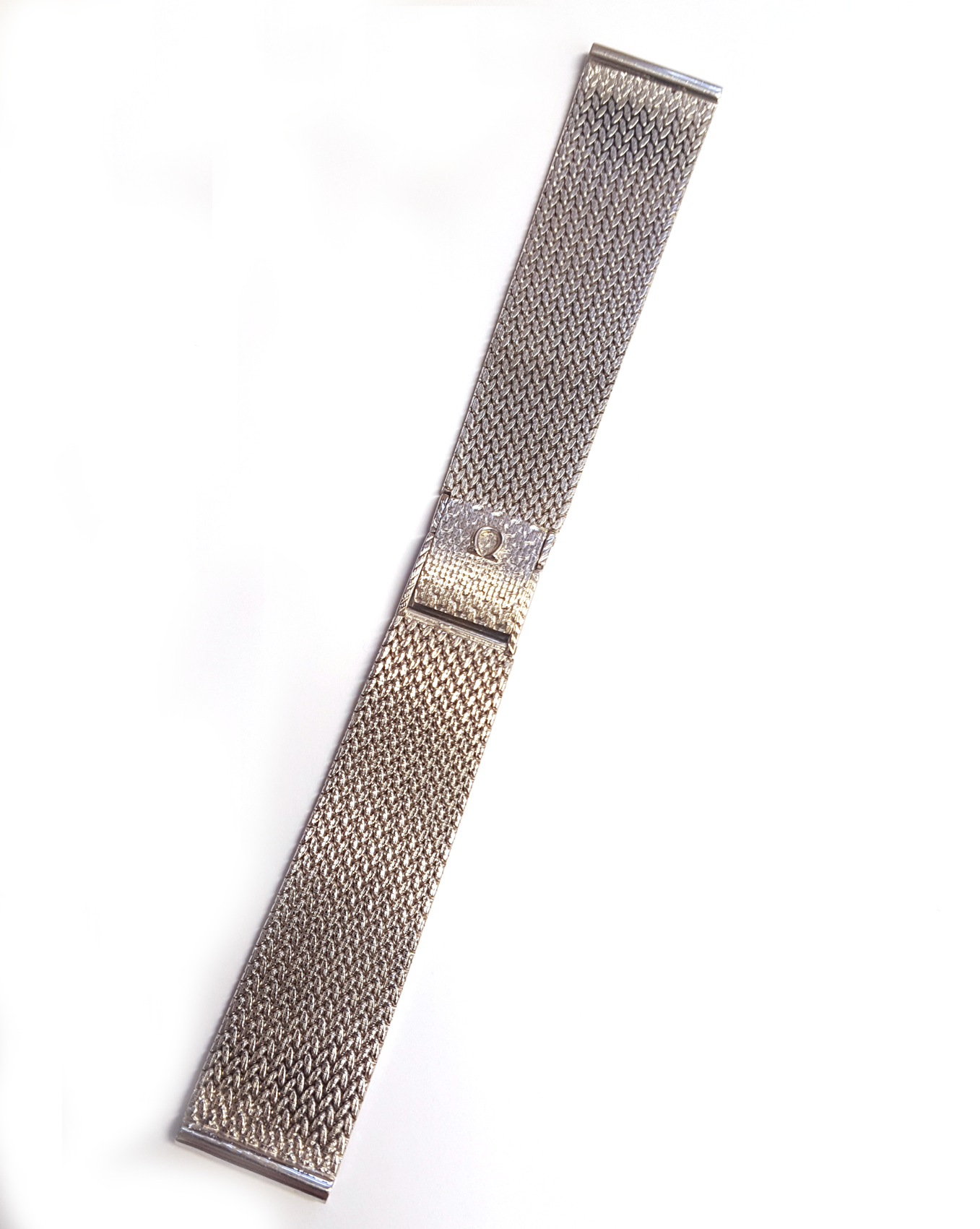 18ct White Gold Omega Watch Bracelet