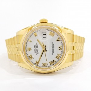 Rolex Datejust 18ct Gold 116208