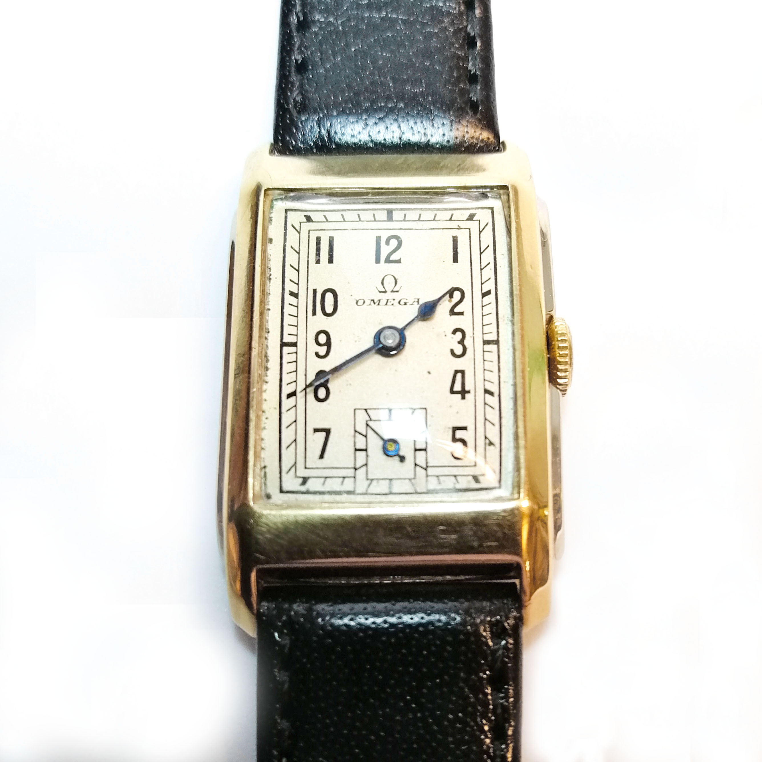 Vintage Omega 9ct Two Colour Gold (1937)